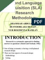 SLA Research Methodology