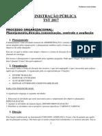 Apostila ADMINISTRAÇÃO PÚBLICA PARA O TST NOVA 2018