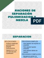 PULVERIZACION Y MEZCLA 2013
