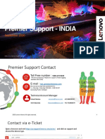 Premier Support - Contact Matrix