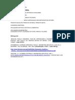 +Ülgebra Vetorial - Programa e Bibliografia