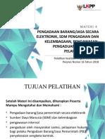 Materi 4 - Pelatihan Keahlian Tingkat Dasar PBJP_v2