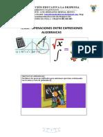 GUIA O1 PERIODO III OPERACIONES ENTRE  EXPRESIONES ALGEBRAICAS (2)