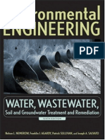Environmental Engineering Water Waste Water Soil and Groundwater Treatment and Remediation