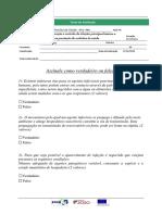 Ficha avaliação Técnico auxiliar de sa~ude