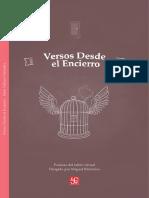 VERSOS DESDE EL ENCIERRO - TALLER DE POESÍA - FCE