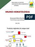 Aula de Imuno-hematologia Débora