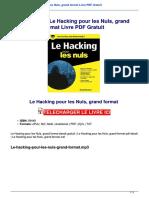 Telecharger Le Hacking Pour Les Nuls Grand Format Livre Pdf Gratuit PJGcBIO2