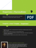 Empirismo e Racionalismo
