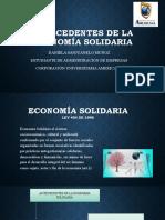 Antecedentes de La Economía Solidaria Ds (1)