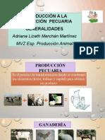 INTRODUCCIÓN Y GENERALIDADES DE LA PRODUCCIÓN PECUARIA