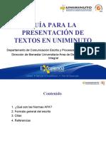 Presentacion Textos UNIMINUTO, CEPLEC y Bienestar_Final (1)