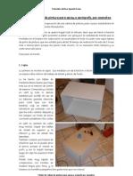 Tutorial - Cabina de pintura para spray o aerógrafo, por aaandres