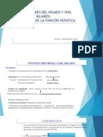 Enfermedades Del Hígado y Vías Biliares