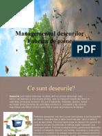 Managementul deseurilor