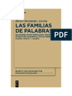 Gruyter - Las Familias de Palabras