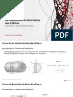 FEA_MS_S03_Vasos de Pressão e Esforços Combinados