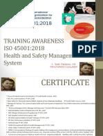 6.  Awareness ISO 45001