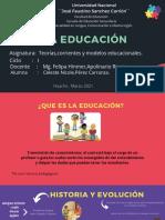 LA EDUCACIÒN (Diapositivas) (1)