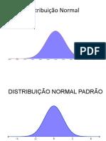 Distribuição Normal com tabela