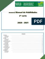 Matriz Bianual de Habilidades - 2020- 2021- Ensino Fundamental - 2º corte