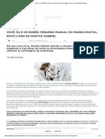 pequeno manual do mundo digital, novo livro de Martha Gabriel