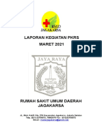 LAPORAN KEGIATAN PKRS MARET 2021