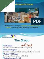 Roshan Packages (Pvt Ltd) Profile