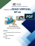 Actividad Virtual Nº 1 - Auditoría Tributaria