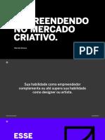 Empreendedorismo No Design