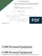 3-200 Personal Equipment - Minneapolis Police
