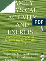 Exercises for Cardio-respiratory Endurance