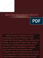 Western Influenced Groups