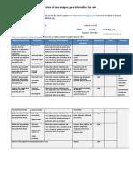 3er Lapso Plan de Clase y Evaluacion Informatica