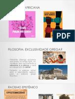 Filosofia Africana Aula 4 PDF