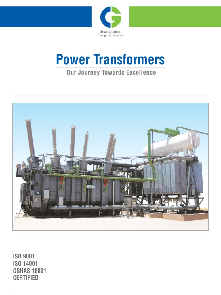 Power transformers transformer electrical substation for Substation pdf