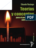 Teorias y Conceptos Para El Pensamiento Antropologico de Eduardo Restrepo