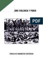 Notas Sobre Violencia y Poder
