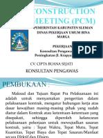 RAPAT PCM Krapyak 2019