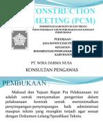 Presentasi PCM Gotakan KP 2019