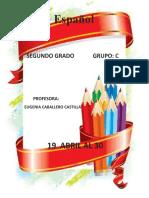 Español 19-30 Abril