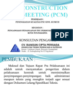 Presentasi PCM PSU 2019