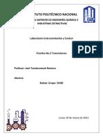 practica 2- Transmisores Instrumentación y control