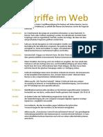 Begriffe Im Web