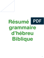 201809 DS Resume de Grammaire