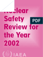 Nuclear Safety Review 2002