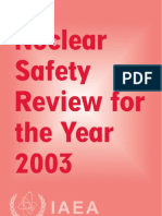 Nuclear Safety Review 2003