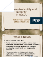 NoSQL Availability & Integrity 2
