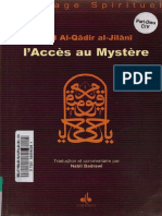 Abd Al-Qâdir al-Jîlânî - L'Accès au Mystère.pdf · version 1