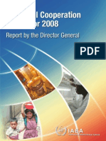 Technical Cooperation Report 2008